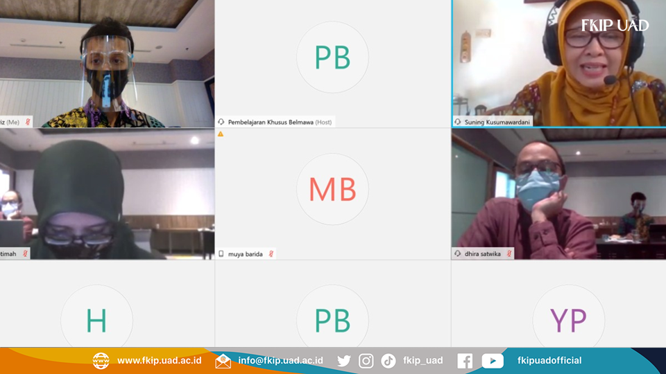 FKIP UAD Lolos Hibah Inovasi Modul Digital 2020