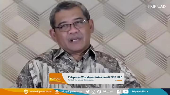 Pelepasan Wisuda FKIP UAD Periode November - Maret 2021