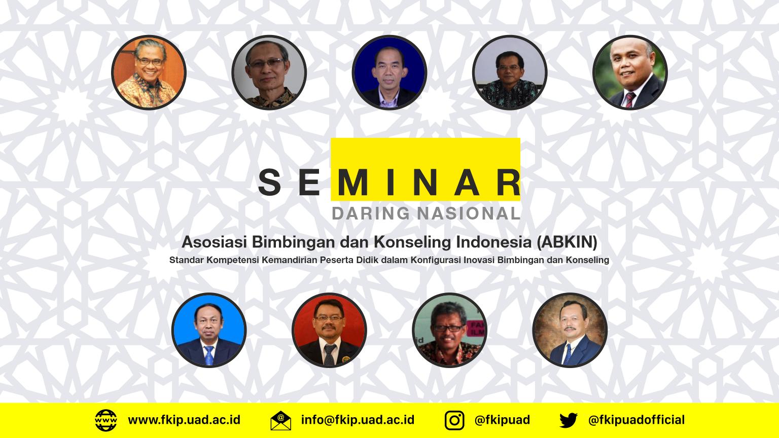 ABKIN Seminar daring Nasional BK 2020
