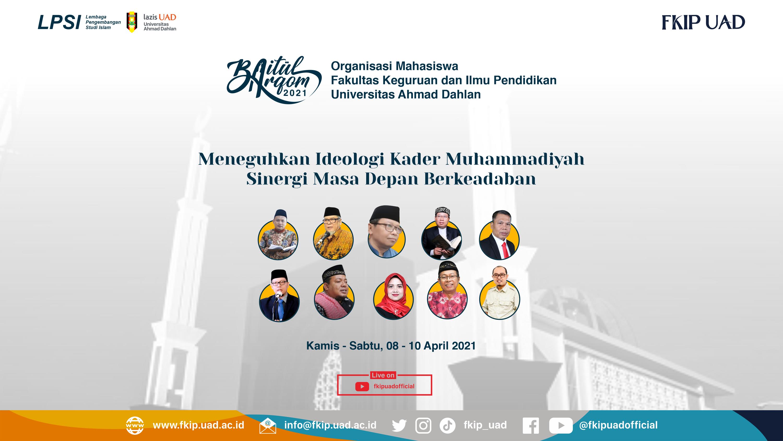 Baitul Arqom Ormawa FKIP UAD 2021