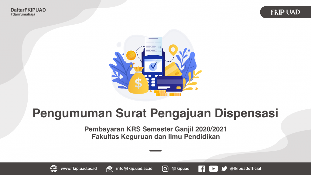 Dispensasi KRS Gasal 2020-2021 FKIP UAD