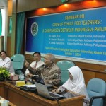 SEMINAR ON CODE OF ETHICS FOR TEACHERS: A CONPARATION BETWEEN INDONESIA-PHILIPPINES