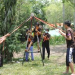 245 MABA PRODI BK FKIP UAD MENGIKUTI CAMP COUNSELING 2014