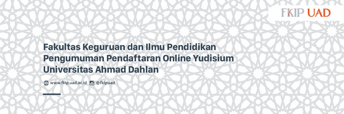 Pendaftaran Online Yudisium